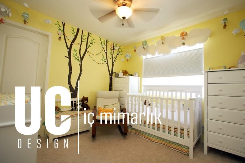 İdeal Bebek Odası Dekorasyon Renkleri